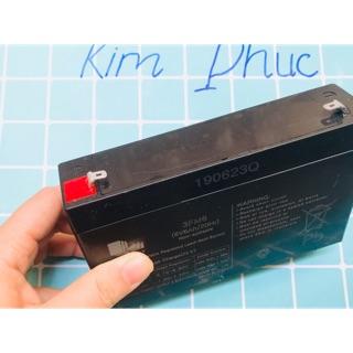Bình ắc quy dùng cho xe ô tô, mô tô điện trẻ em 6V