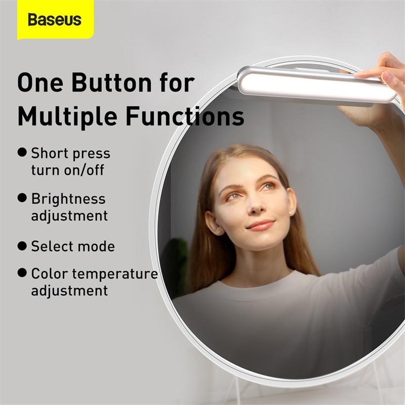 Đèn Bàn LED Baseus Từ Tính Treo Tủ Quần Áo Có Thể Sạc