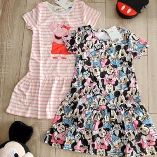 Váy cộc tay HM authentic UK dễ thương cho bé 1,5-10y