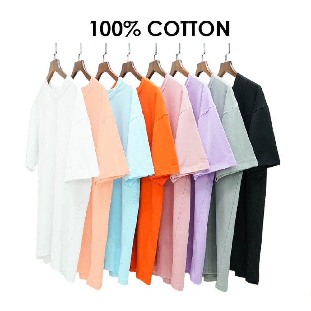 Áo thun nam nữ Unisex N7 Basic Tee OHANA phông trơn tay lỡ oversize form rộng nhiều màu