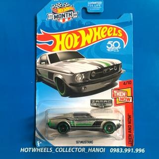 Xe Hot Wheels – '67 Mustang Zamac