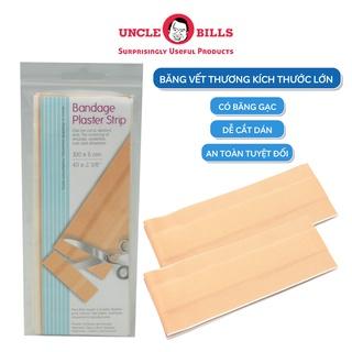 Băng cá nhân miếng lớn có gạc đệm Uncle Bills AG0079 băng dán vết thương cá nhân, urgo, băng y tế bảo vệ vết t thumbnail