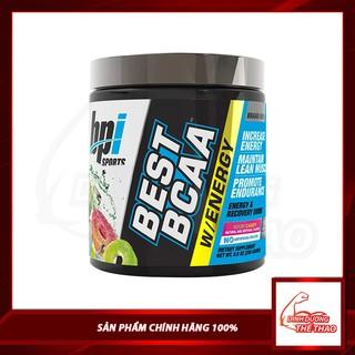 BEST BCAA ENERGY phục hồi cơ tăng năng lượng vị kẹo chua 25 Lần dùng BPI SPORTS