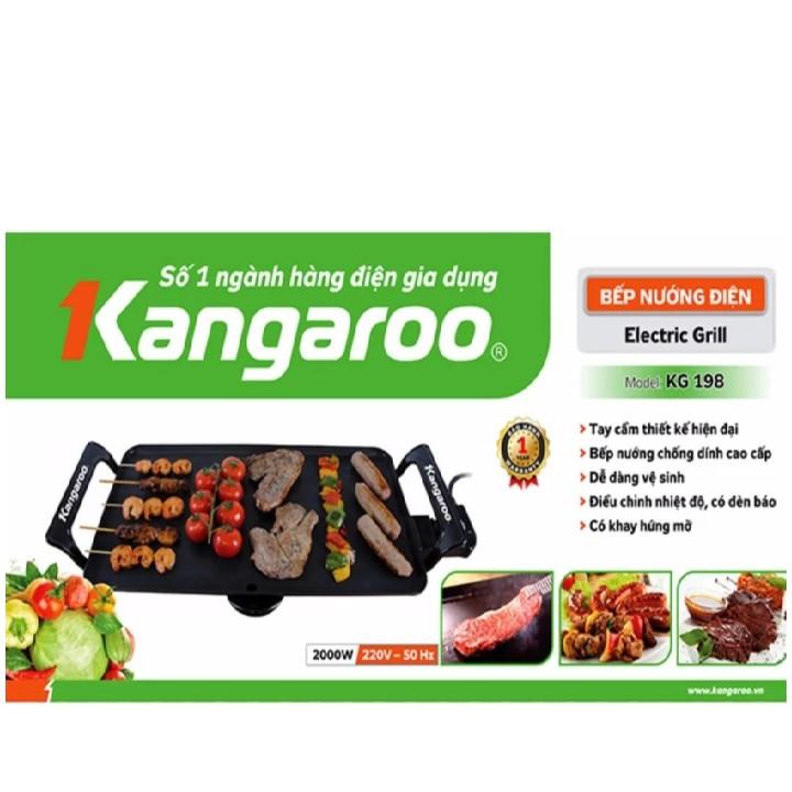 Bếp Nướng Điện Kangaroo KG198