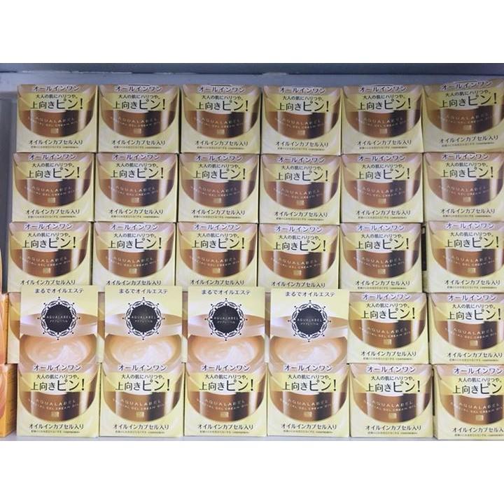 Kem Dưỡng Da Shiseido Aqualabel Màu Vàng Chống Lão Hóa Ban Đêm, 90g - 23074453 , 1150401102 , 322_1150401102 , 380000 , Kem-Duong-Da-Shiseido-Aqualabel-Mau-Vang-Chong-Lao-Hoa-Ban-Dem-90g-322_1150401102 , shopee.vn , Kem Dưỡng Da Shiseido Aqualabel Màu Vàng Chống Lão Hóa Ban Đêm, 90g