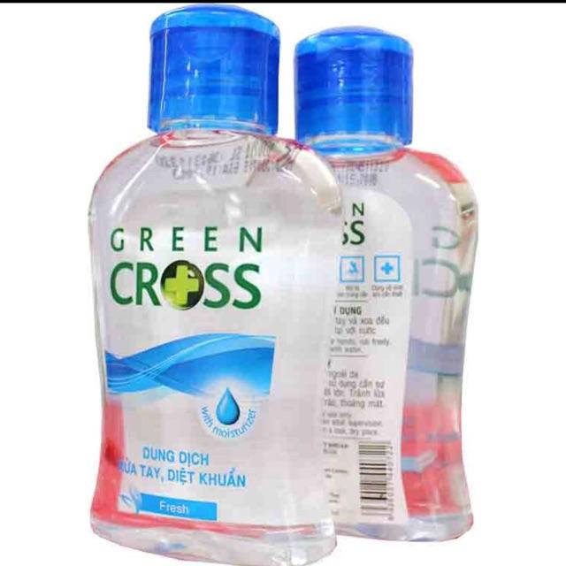 Nước Rửa Tay Khô Green Cross 100ml