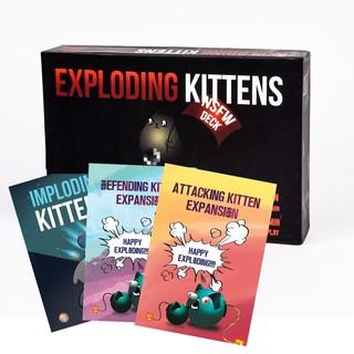 Combo Mèo nổ Exploding Kitten đen + 3 Bản mở rộng thumbnail