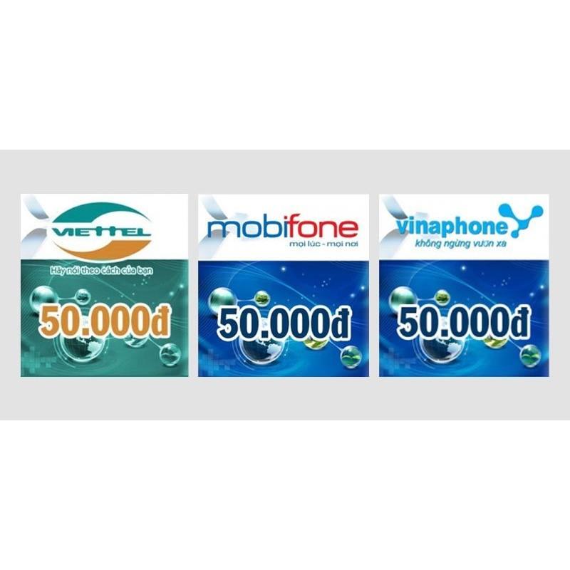 Thẻ cào điện thoại 50.000đ