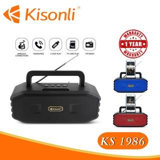 [Bảo hành 12 tháng] _ Loa Kisonli Bluetooth KS-1986 _ Màu sắc ngẫu nhiên