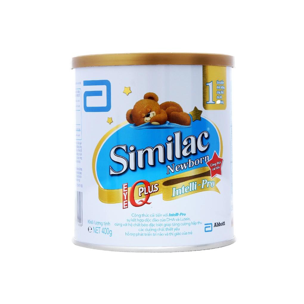 Sữa bột Similac Newborn 1 IQ Plus 400g date 2/2020 - 2820903 , 1250843045 , 322_1250843045 , 236000 , Sua-bot-Similac-Newborn-1-IQ-Plus-400g-date-2-2020-322_1250843045 , shopee.vn , Sữa bột Similac Newborn 1 IQ Plus 400g date 2/2020