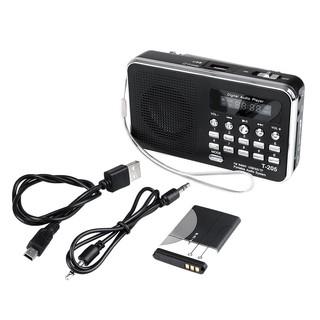SD/TF Card Slot USB Line In Speaker Digital Multimedia MP3 Music FM Radio