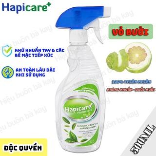 [VỎ BƯỞI] Chai xịt khuẩn HapiCare+ (500ml) Dung dịch rửa tay sát khuẩn Nước khử khuẩn Xịt rửa tay khô thumbnail