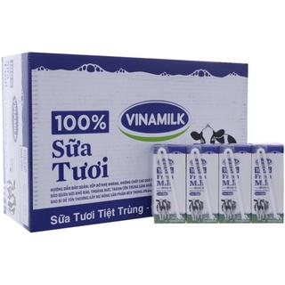 Sữa tươi 100% ít đường 180ml hàng mới!