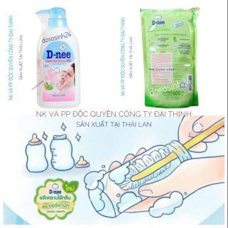 [Tem Đại Thịnh] Nước RỬA bình sữa, trái cây Dnee Thái Lan (Chai Túi) thumbnail