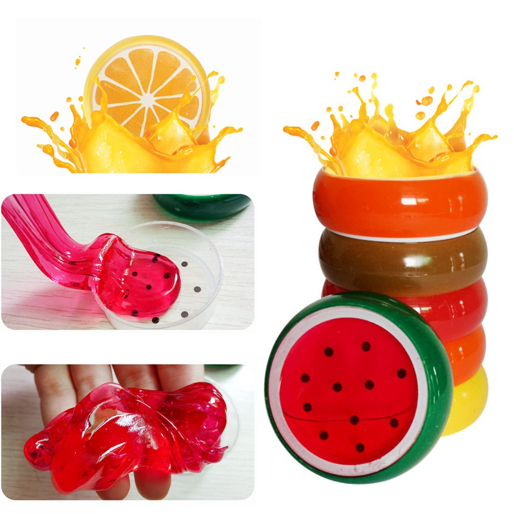 Children's toy crystal fruit magnetic color clay clay mud
