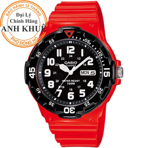 Đồng hồ nam dây nhựa Casio chính hãng Anh Khuê MRW-200HC-4BVDF