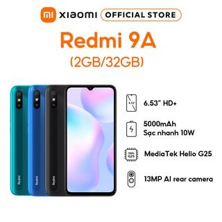 Điện Thoại Xiaomi Redmi 9A - 2GB 32GB - Hàng Chính Hãng - BH 18 tháng thumbnail