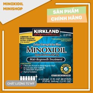 Minoxidil 5% một hộp sáu chai lỏng