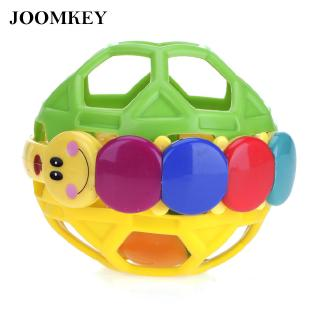Rattle Shake Ball Bell Cute Lovely Plastic Colorful Bendy Ball Toy Vintage