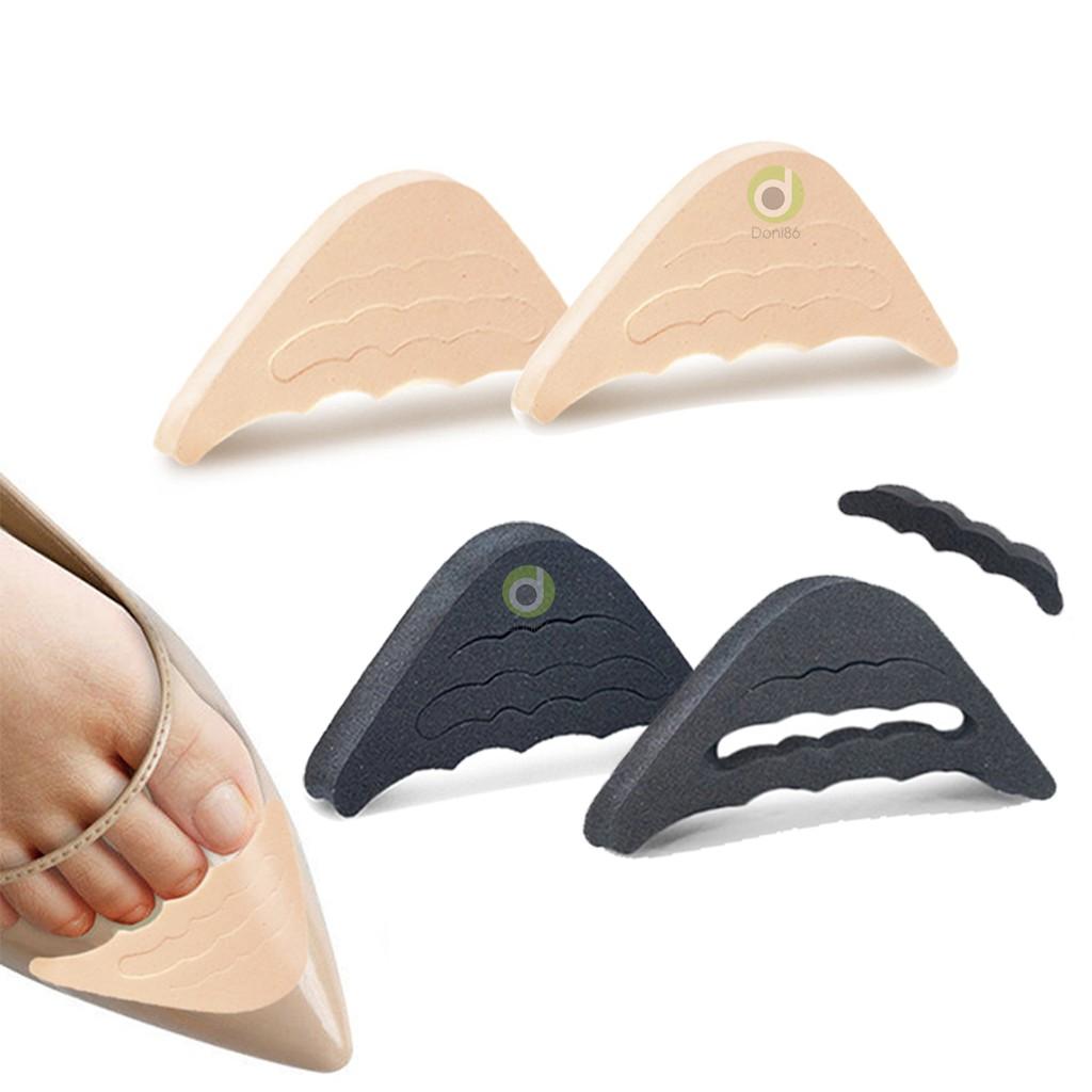 01 cặp lót giày cao gót nữ đệm êm ngón chân chất liệu cao su non PK50