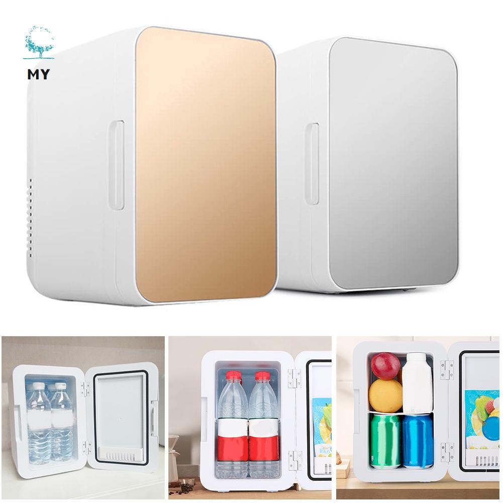 Tủ lạnh mini 8L tiện lợi sử dụng tại nhà hoặc trên xe ô tô