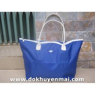 Túi xách nữ chống ướt màu xanh