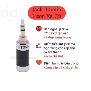 ( Liton USA ) Giắc 3.5 Xịn, Jack 3 Ly Xà Cừ