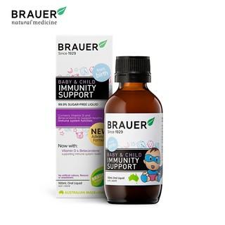 Brauer Baby Child Immunity Support Tăng Sức Đề Kháng Cho Trẻ 100ml