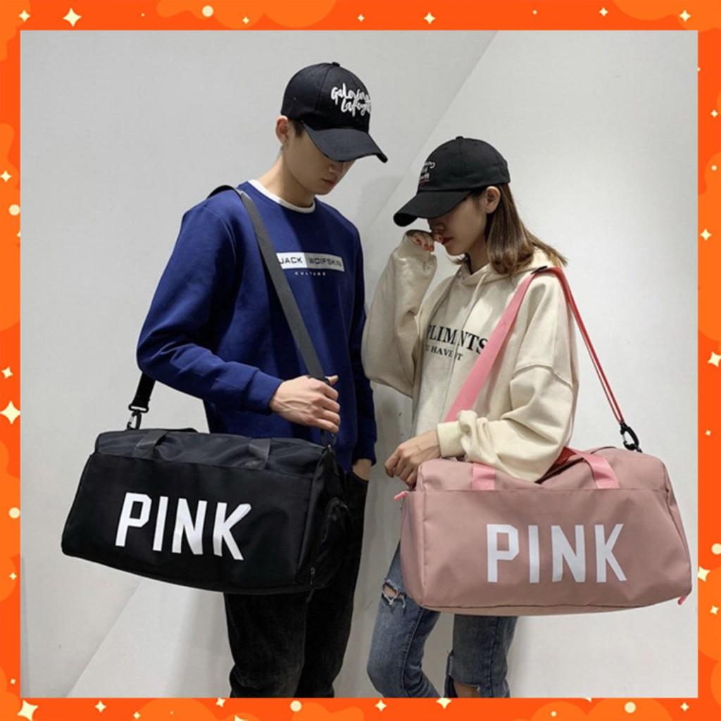 Túi xách du lịch pink size lớn hàng cao cấp