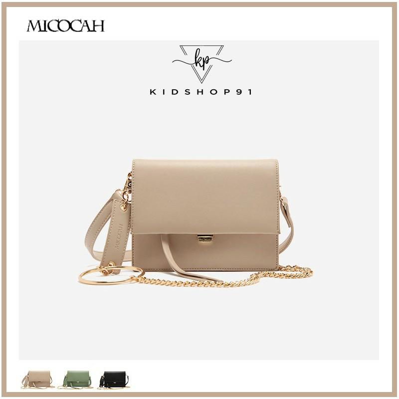 Túi đeo chéo Micocah👑FreeShip – hàng Auth👑 [Ảnh thật] Túi đeo chéo Micocah cao cấp hàng chính hãng Full Tag Mác HSD135