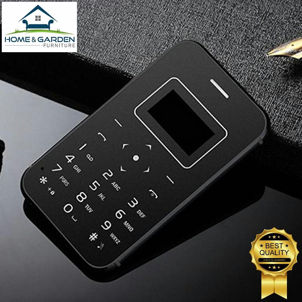 Combo điện thoại mini Aiek X8 siêu nhỏ 2018 (Black) + tặng sạc dự phòng 2600mAh