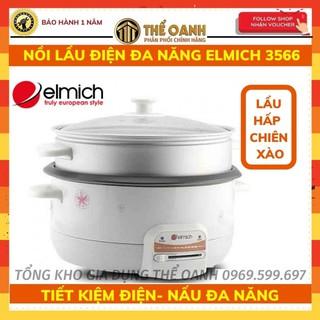 Nồi lẩu điện đa năng ELMICH EL3566