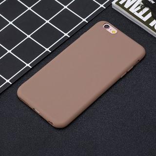 Ốp điện thoại silicon màu trơn đơn giản sang trọng cho iphone 6 6s 6+ 6s+ 7 7+ 8 8+ x xr xs xsmax thumbnail