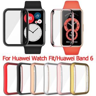 huawei band 6 smart band case Soft TPU Screen Protector Watch Cover for Huawei Watch Fit Band 6 Watch Case