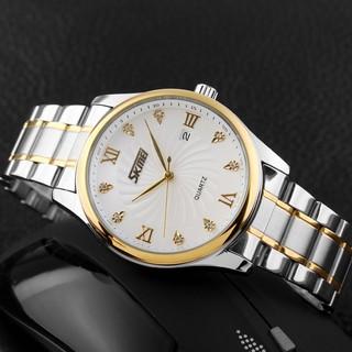 Đồng hồ nam SKMEI đẳng cấp chính hãng dây thép không gỉ chống nước SKM101