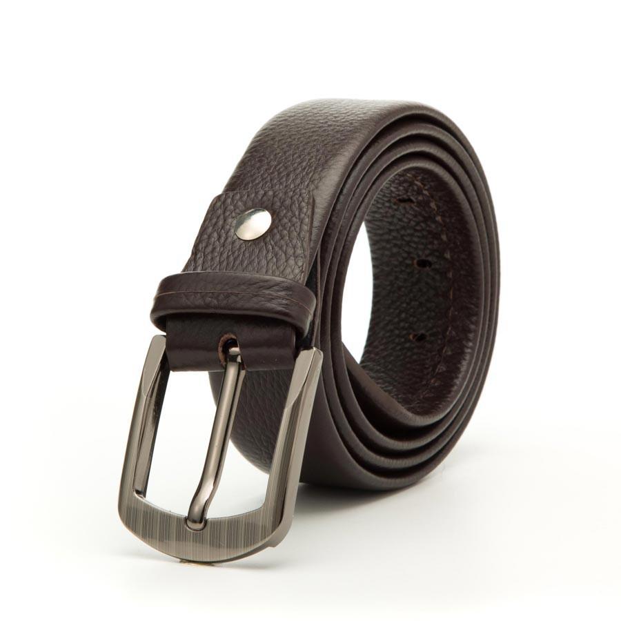 [Da bò thật] Thắt lưng nam da bò 4U nam tính T167 (đen - nâu) [giá cực tốt]+ tặng hộp đựng sang trọng