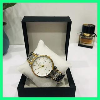 Đồng hồ nam HALEI 552 mặt tròn trắng tặng pin