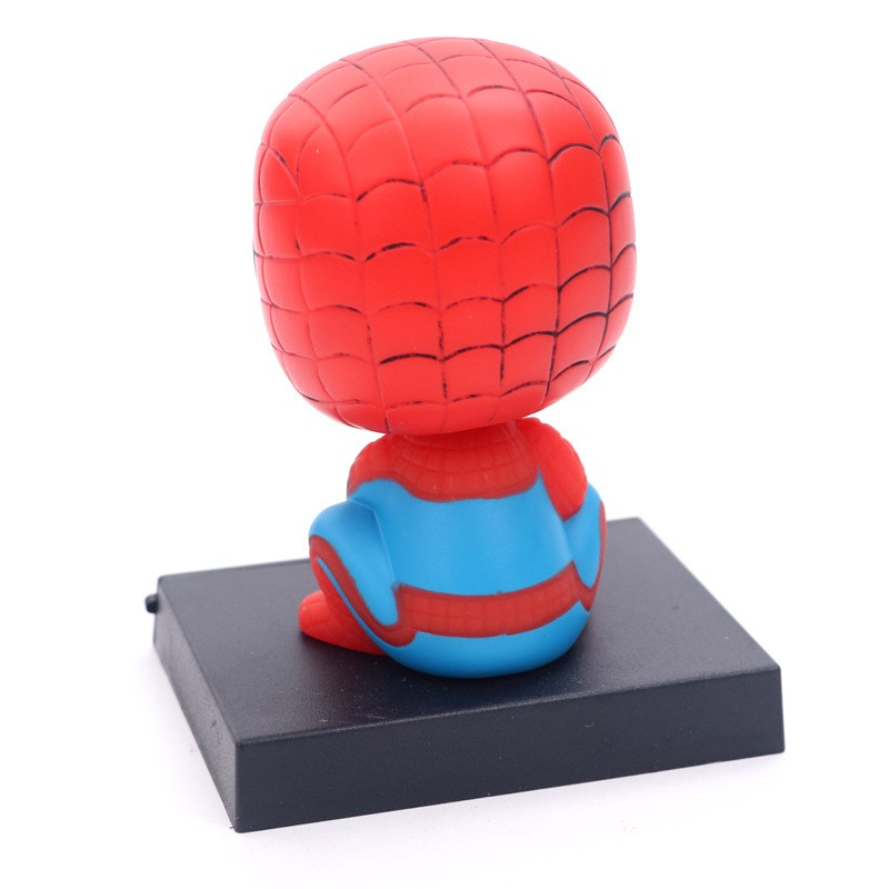 Marvel Captain America Civil War Avengers The Amazing Spiderman PVC Action Figure Collectible Model Car Decoration Toy