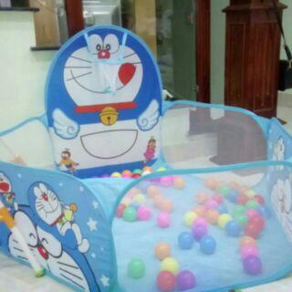 Lều bóng cho bé kèm 100 trái bóng màu sắc
