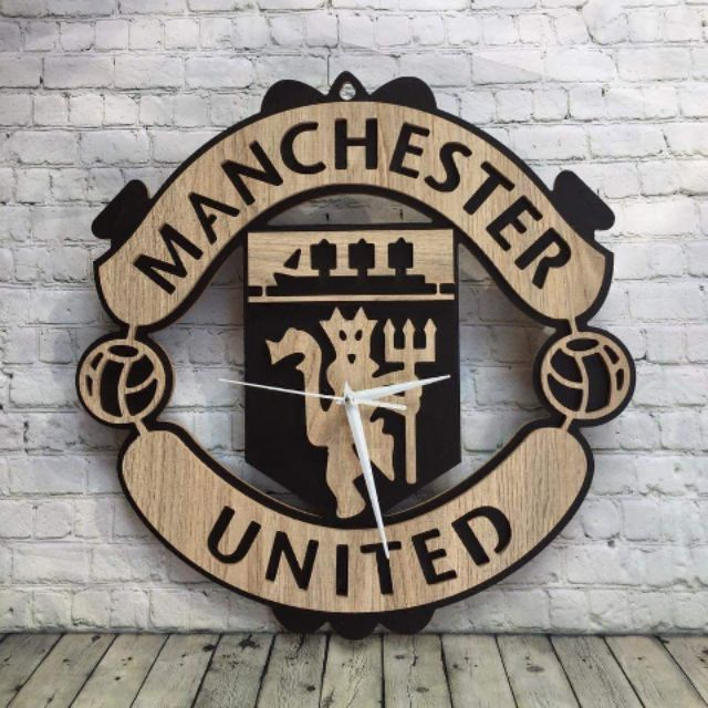Đồng Hồ Bóng Đá Logo Các Clb Arsenal Chelsea Liverpool Manchester United (Mu) Manchester City...