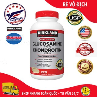 Viên uống Glucosamine 1500mg & chondroitin 1200mg 220 viên – Glucosamin
