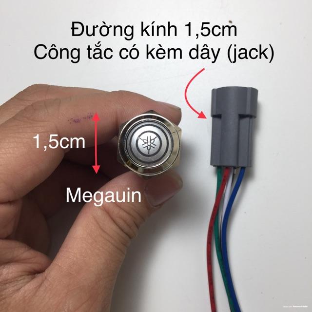 Công tắc led hàng loại 1 chống nước ( có kèm dây và jack )