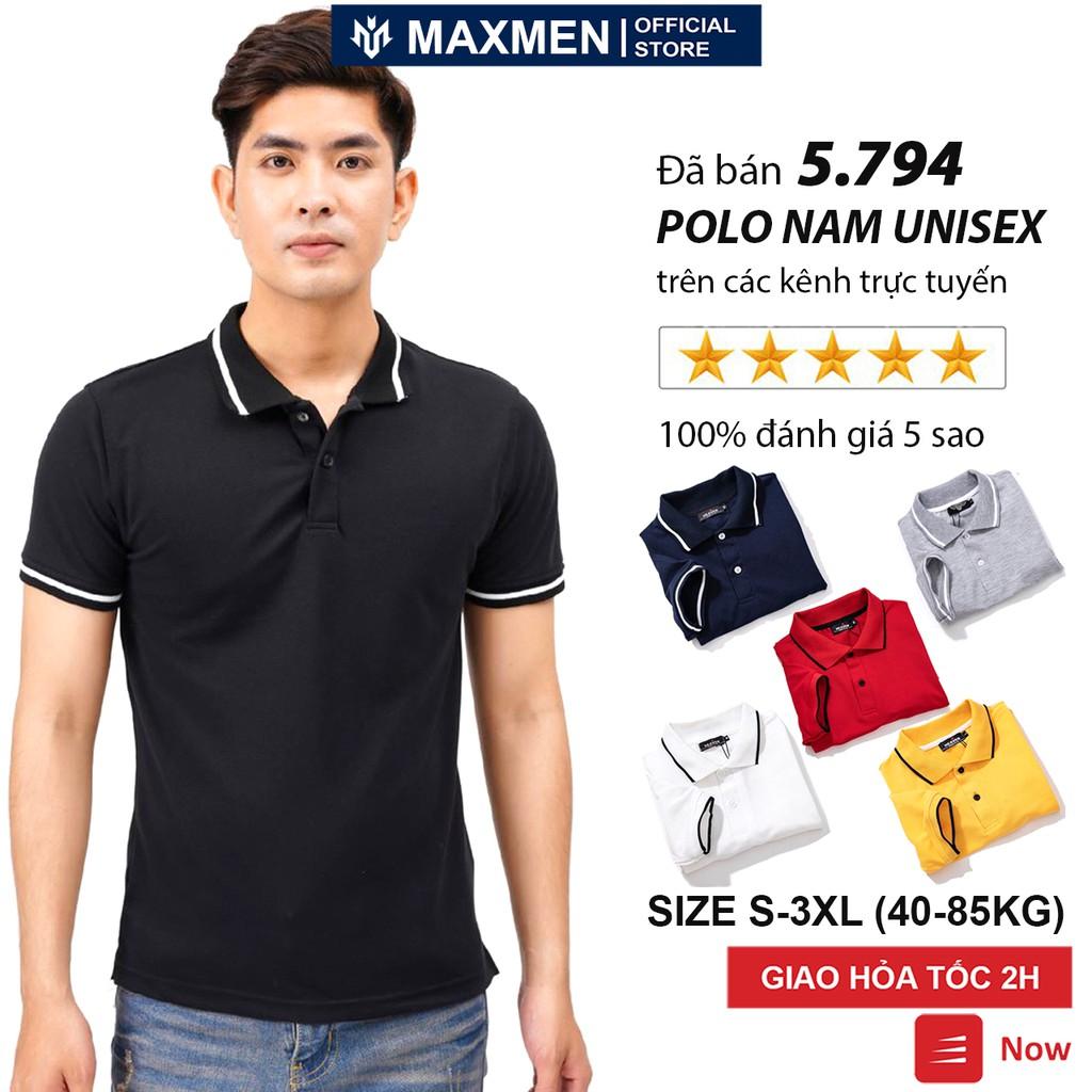 Áo Polo nữ nam unisex có cổ đẹp Hamino basic ngắn tay chất vải thun cotton co giãn cao cấp màu trắng đen E2