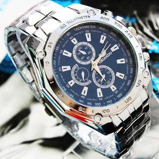 Đồng hồ nam mạ dây hợp kim Oriando
