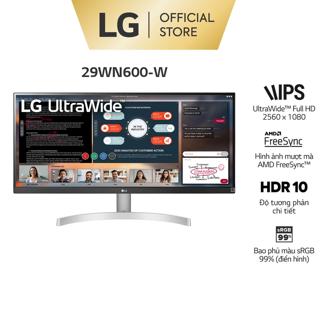 Màn Hình LG 29WN600-W 29″ IPS 75Hz Freesync HDR UWFHD – Chính hãng