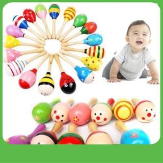 [BÁN CHẠY] Xúc xắc gỗ đầu tròn cho trẻ em(SL1)