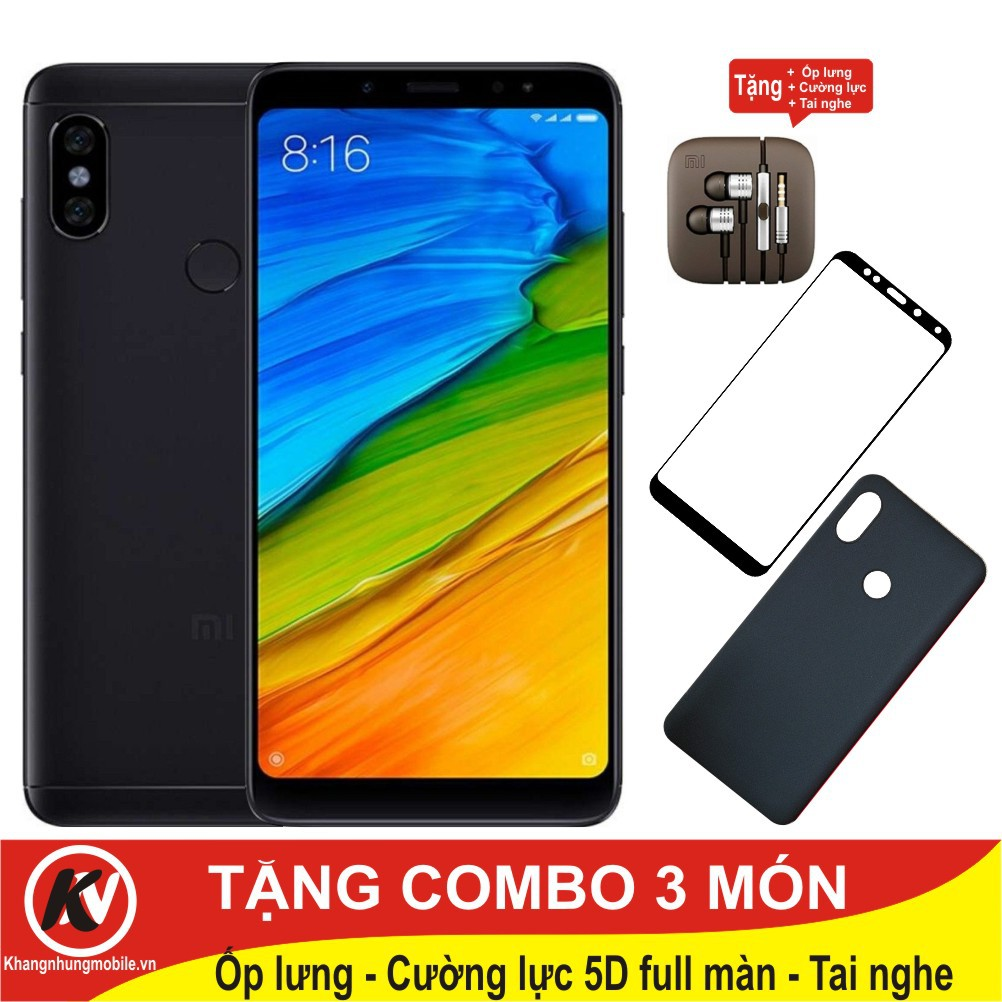 Combo Điện thoại Xiaomi Redmi Note 5 Pro 64GB Ram 4GB - Hàng nhập khẩu + Ốp lưng + Cường lực 5D full - 3104981 , 1016561613 , 322_1016561613 , 7000000 , Combo-Dien-thoai-Xiaomi-Redmi-Note-5-Pro-64GB-Ram-4GB-Hang-nhap-khau-Op-lung-Cuong-luc-5D-full-322_1016561613 , shopee.vn , Combo Điện thoại Xiaomi Redmi Note 5 Pro 64GB Ram 4GB - Hàng nhập khẩu + Ốp