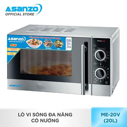 Lò vi sóng đa năng có nướng Asanzo ME-20V (20 lít) _ ME-20V