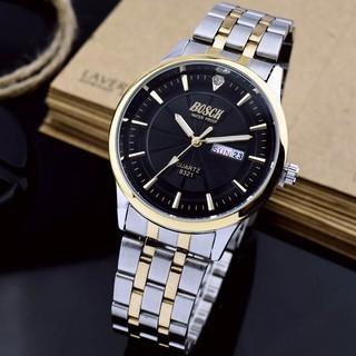 Đồng hồ nam BOSCK chính hãng, dây thép không rỉ, mặt kính chống xước tốt, kiểu dáng thời trang, lịch lãm thumbnail