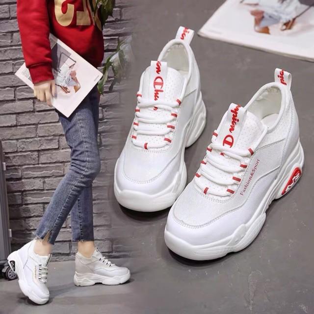 [ Hàng order 5 ngày] giày thể thao đế độn 9cm